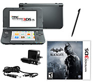 New Nintendo 3DS XL with Batman Game & Charge Kit - E283516