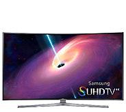 Samsung 78 Class LED Curved 4K Smart Ultra HDTV - E284216