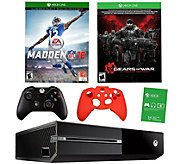 Xbox One 500GB Bundle w/ Madden NFL 16, Gears of War & Accs. - E288016