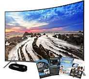Samsung 65 LED Curved 4K HDR Pro Smart TV w/ HDMI & App Pack - E291116