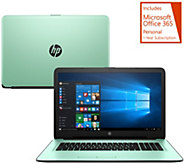 HP 17 Laptop Intel Core i3 8GB RAM 1TB HD Life TimeTech & MS Office 365 - E230417
