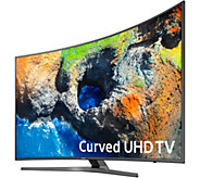 Samsung 55 4K Curved UHD Smart TV with 2yr LMW - E231517