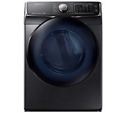 Samsung 7500 Series 7.5 Cu Ft Electric Dryer -Black Stainless - E288617