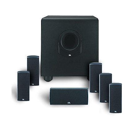 jbl scs160si 7 piece home theater speaker system. Black Bedroom Furniture Sets. Home Design Ideas
