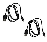 HALO Set of 2 Lightning USB Cables to use w/ iPhone 5 & iPad Mini - E225218