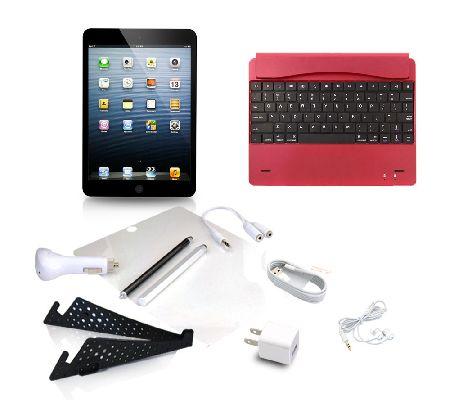 apple ipad mini 2 retina 32gb wifi w keyboard cover. Black Bedroom Furniture Sets. Home Design Ideas