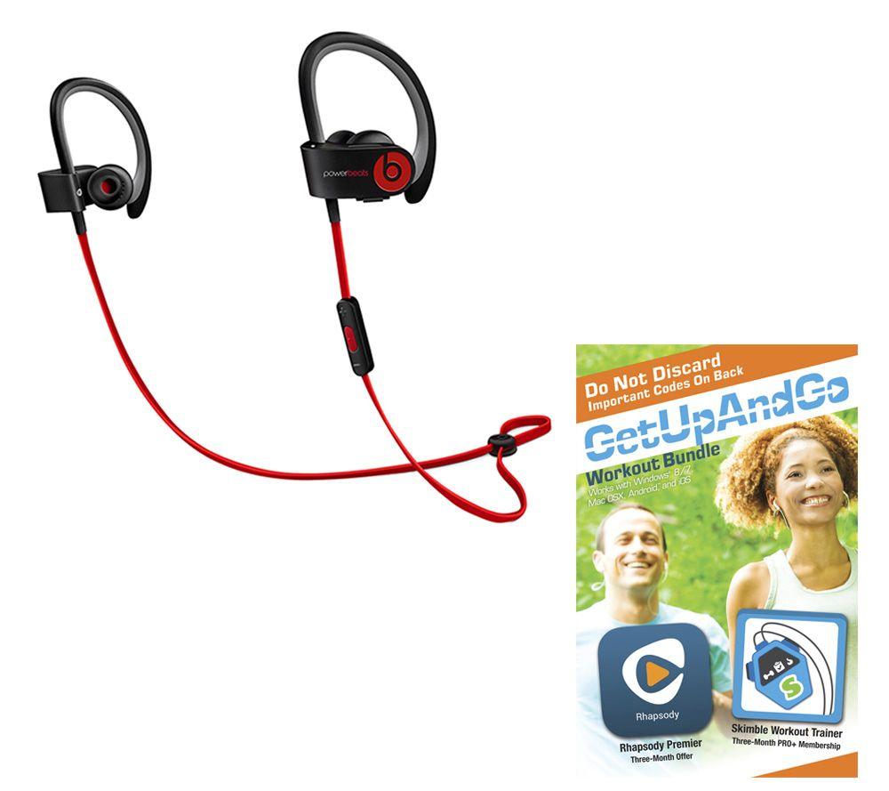 Beats By Dre Powerbeats2 Wireless Earbuds With App Package