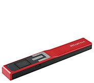 IRIScan Book 5 Portable Wi-Fi Scanner w/ 4GB SD Card & Travel Pouch - E231718