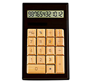 Impecca Bamboo Calculator - E276118