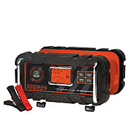 Black & Decker 15-Amp High-Frequency Battery Charger w/ Clamps - E283918
