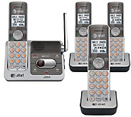 DECT 6.0 Digital Four-Handset Answering SystemBundle - E284618