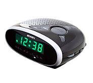 Jensen JCR-175 Jensen AM/FM Dual Alarm Clock Radio - E248719
