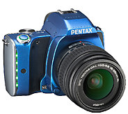 Pentax K-S1 SLR Digital Camera with 18-55mm Lens, 16GB SD Card - E280519