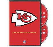 NFL History of the Kansas City Chiefs 2-Disc DVD Set - E290419