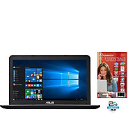 ASUS 15.6 Laptop - AMD A8 Quad Core, 8GB RAM,1TB HDD 2YR LMW - E290519