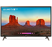 LG 43 4K UHD Smart ThinQ AI LED TV with HDR - E294019