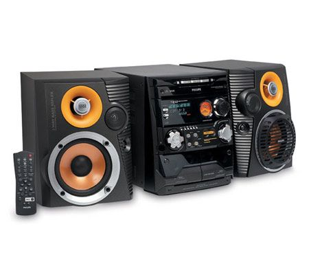 philips fwc527 240 watt 3 cd mini hifi system. Black Bedroom Furniture Sets. Home Design Ideas