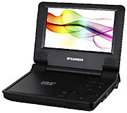Sylvania 7 Portable DVD Player with Textured - E225020