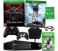 Xbox One 500GB Bundle with Star Wars Battlefront & App Package