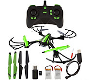 Sky Viper 720p HD Video Drone DuraFlex Body Spare Parts & 2 Extra Battery - E229120