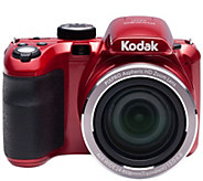 Kodak PIXPRO AZ421 16MP 42X Zoom Digital Camera w/ 8GB SD Card - E229220
