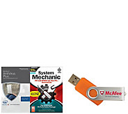 McAfee & Intel Antivirus Plus System Mechanic for Life of 7 Computers - E229420