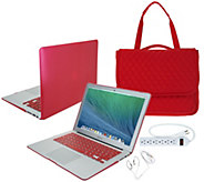 Apple MacBook Air 13 Bundle w/ Accessories Clip Case and 3-in-1 Tote Bag - E230820