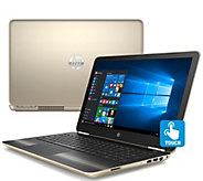 HP Pavilion 15 Touch Laptop - AMD A9, 8GB RAM,1TB HDD - E289920