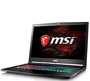 MSI 17.3 Gaming Laptop - Core i7, 16GB, 256GBSSD, GTX 1060 - E292920