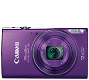 Canon PowerShot ELPH 360 20 Megapixel HS Digital Camera - E288521