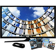 Samsung 32 M5300 LED Smart HDTV, 6 HDMI Cable, and Software - E291521