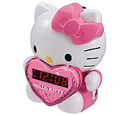 Hello Kitty AM/FM Projection Clock Radio - E258022