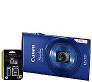 Canon PowerShot ELPH 170 IS Digital Camera with8GB MicroSD - E282922