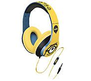 KIDdesigns Minions Light Up Over-the-Ear Headphones - E285722