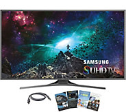 Samsung 60 LED 4K SUHD Smart TV w/ HDMI & Software - E287422