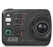 AEE S71T Pro Action Camera - 4K Ultra HD Video,16MP, Wi-Fi - E287922