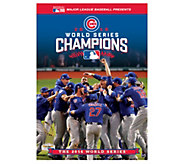 Chicago Cubs 2016 World Series Champions DVD - E290222