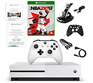 Xbox One S 500GB Console with NBA 2K18 and Accessories - E292722