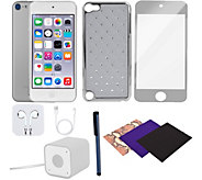 Apple iPod Touch 6th Generation 128GB & Accessories - Silver - E293122