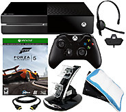 Xbox One w/carry bag & Forza Voucher Download Card - E226423
