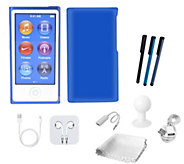 Apple 16GB iPod Nano with Touchscreen, Sparkle Case & Accessories - E227323