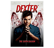 Dexter Season 6 Four-Disc Set DVD - E263623