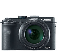 Canon PowerShot G3 X 20.2 Megapixel 25X Zoom Digital Camera - E285023