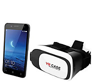 SuperSonic Unlocked 4G LTE Smartphone with VR Headset - E290523