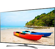 LG 65 Smart 4K Super Ultra HDTV with HDR & Dolby Vision - E290923