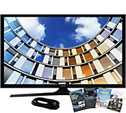 Samsung 40 M5300 LED Smart HDTV, 6 HDMI Cable, and Software - E291523