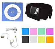 Apple iPod Shuffle w/ 8 Colors, Arm Band Holder & Headphone Acc - E227324