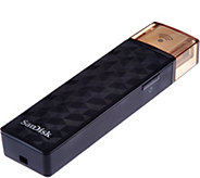SanDisk Connect Wireless Stick 128GB USB 2.0 Flash Drive - E229724