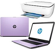 HP 15 Laptop 8GB RAM 1TB HDD Intel Core i3 Two-Year Tech & HP WiFi Printer - E229824