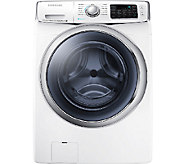 Samsung 4.5 Cubic Ft Front-Load Washer with PowerFoam - White - E277924